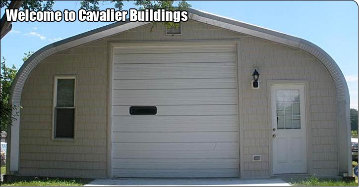 P-Model Steel Building Garage